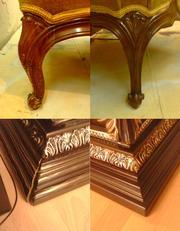реставрация и ремонт мебели и декора