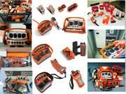 Запчасти и комплектующие для пультов радиоуправления на спецтехнику
